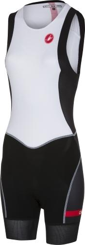 Castelli Women's Short Distance W Race Suit - White - Classic Cycling