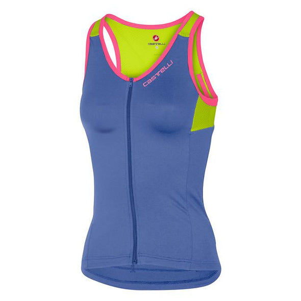 Castelli Women's Solare Top - Blue - Classic Cycling