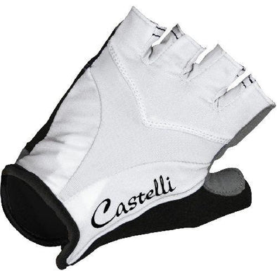 Castelli Women's Tenacia Cycling Glove - White - Classic Cycling