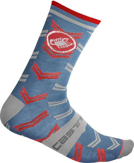 Castelli Women's Transition 18 Sock - Blue - Classic Cycling