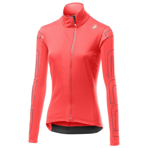 Castelli Women's Transition W Jacket - Pink - Classic Cycling