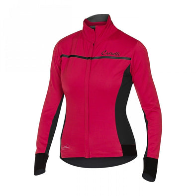 Castelli Women's Trasparente 3 Long Sleeve Jersey - Pink - Classic Cycling