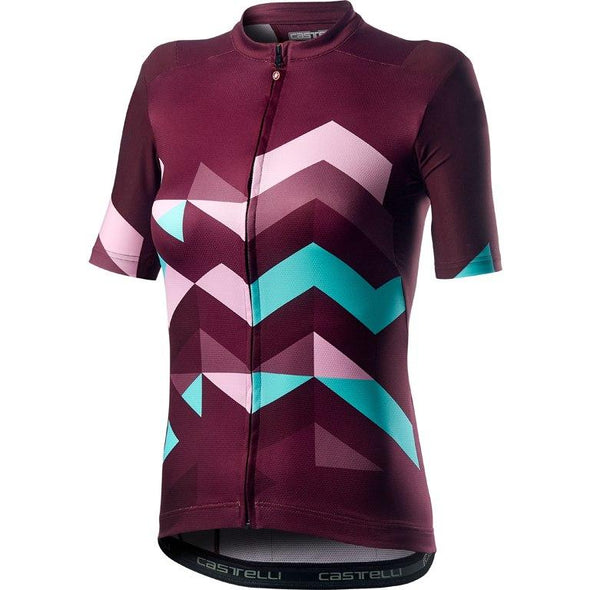 Castelli Women's Unlimited W Jersey - Sangria - Classic Cycling