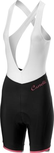 Castelli Women's Vista Bibshort - Pink - Classic Cycling