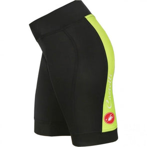 Castelli Vizio Tre Women/'s Summer Padded Shorts Black//White Small NWT