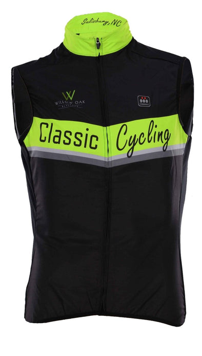 Classic  Light Weight Wind Vest - Classic Cycling