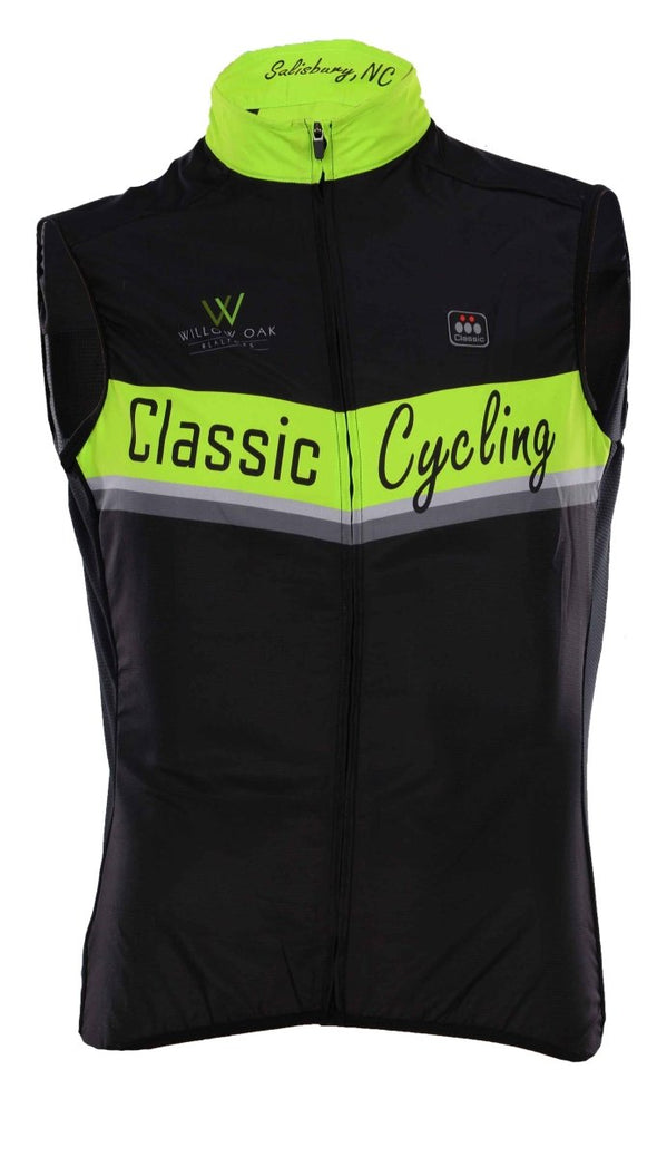 Classic 2016 Light Weight Wind Vest - Classic Cycling