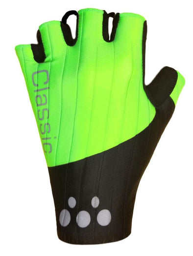 Classic Cycling Aero Gloves - Black Fluo - Classic Cycling