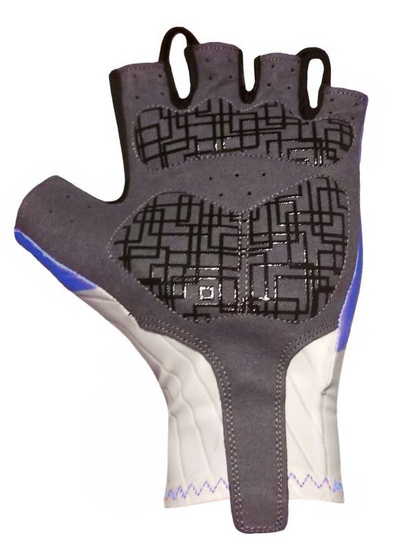 Classic Cycling Aero Gloves - Blue - Classic Cycling