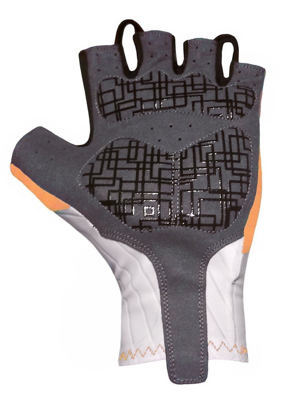 Classic Cycling Aero Gloves - Orange - Classic Cycling