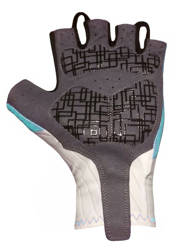 Classic Cycling Aero Gloves - Turquoise - Classic Cycling