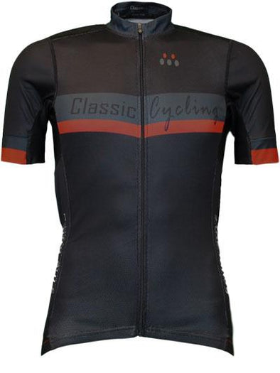 Classic Cycling Black Label Jersey - Black - Classic Cycling