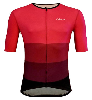 Classic Cycling Corsa Race 1.0 Jersey - Burgundy - Classic Cycling