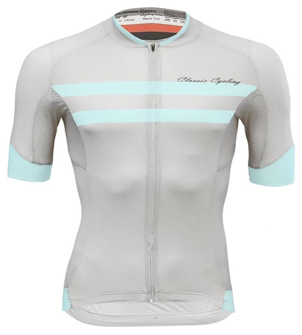 Classic Cycling Elite Jersey - Grey - Classic Cycling