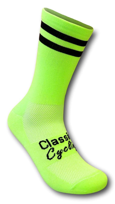 Classic Cycling Equipe Socks - Fluo - Classic Cycling