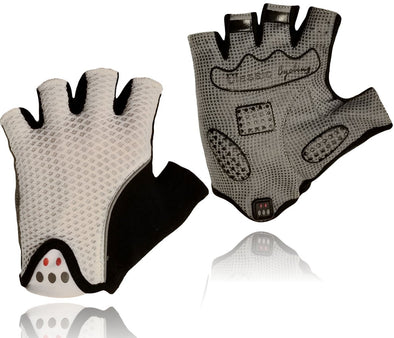 Classic Cycling Gloves White - Classic Cycling