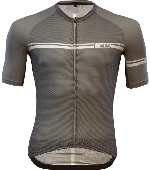 Classic Cycling Ice Jersey - Gray - Classic Cycling