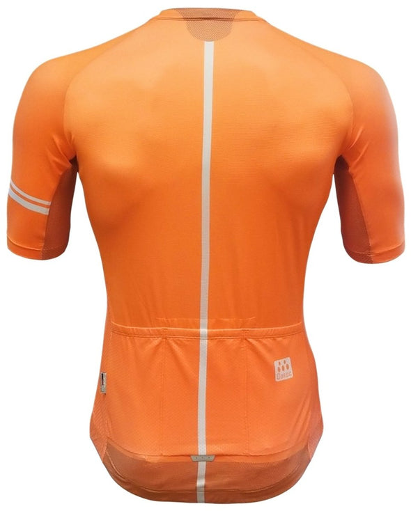 Classic Cycling Ice Jersey - Orange - Classic Cycling