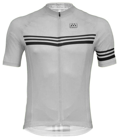 Classic Cycling  Men's Metric 2 Jersey - Gray - Classic Cycling