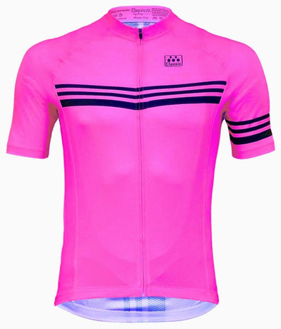 Classic Cycling  Men's Metric 2 Jersey - Pink - Classic Cycling