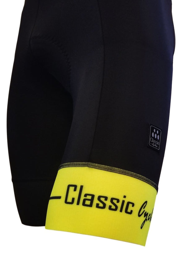 Classic Cycling Men's Metric Bib Short - Fluo - Classic Cycling