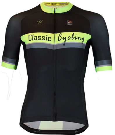 Classic Cycling Men's Metric Team Jersey - Black - Classic Cycling