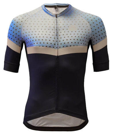 Classic Cycling Navy Dots 1.1 Jersey - Classic Cycling