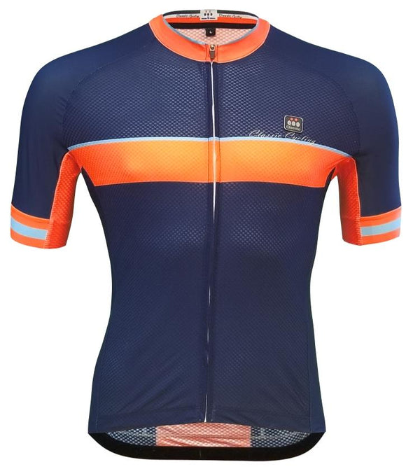 Classic Cycling Pace Jersey - Navy - Classic Cycling