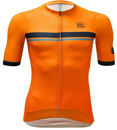 Classic Cycling Pista Jersey - Orange - Classic Cycling