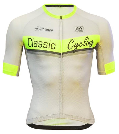 Classic Cycling Silver Ice Jersey - Classic Cycling