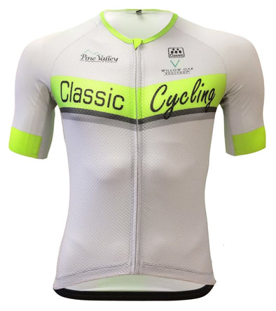 Classic Cycling Silver Ice PRO Jersey - Classic Cycling