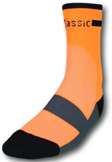 Classic Cycling Sock - Fluo Orange - Classic Cycling