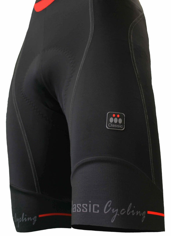Classic Cycling Tour Bib Short - Black - Classic Cycling