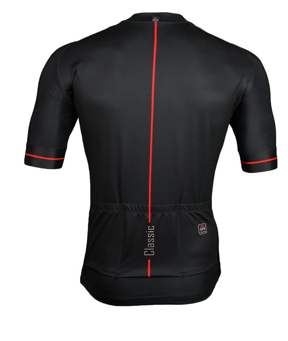 Classic Cycling Tour Jersey - Black - Classic Cycling