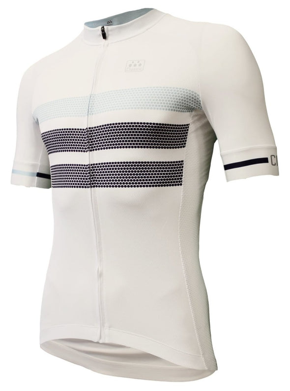 Classic Cycling Tour Jersey - White - Classic Cycling