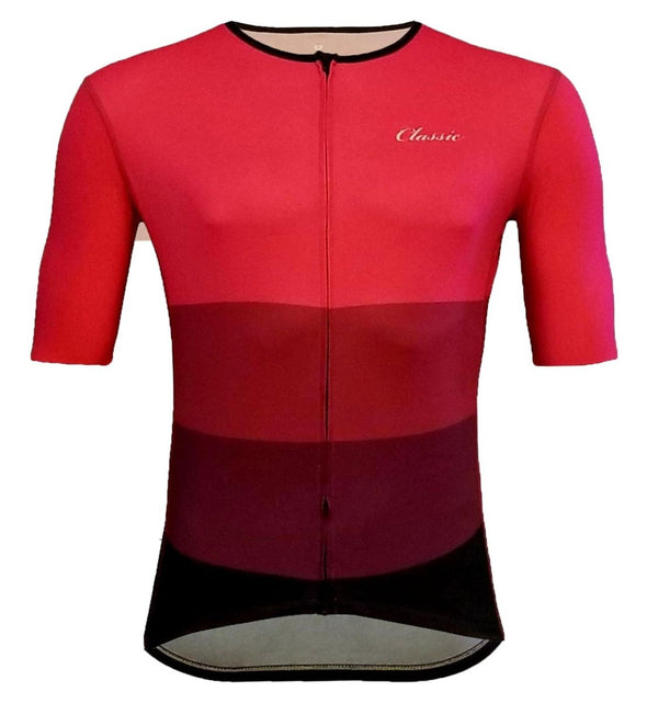 Classic Cycling Women's Corsa Race 1.0 Jersey - Burgundy - Classic Cycling