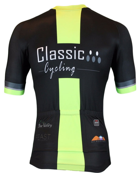 Classic Cycling Women's Metric Team Jersey - Black - Classic Cycling