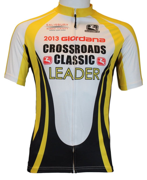 Giordana 2013 Crossroads Jersey - Yellow - Classic Cycling