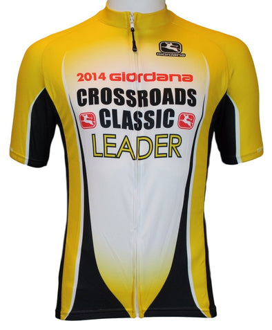 Giordana 2014 Crossroads Jersey - Yellow - Classic Cycling