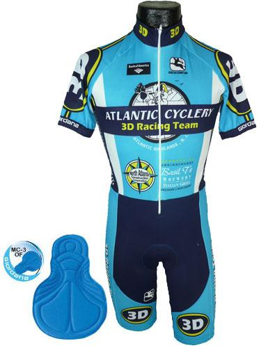Giordana Atlantic Short Sleeve Skin Suit - Classic Cycling