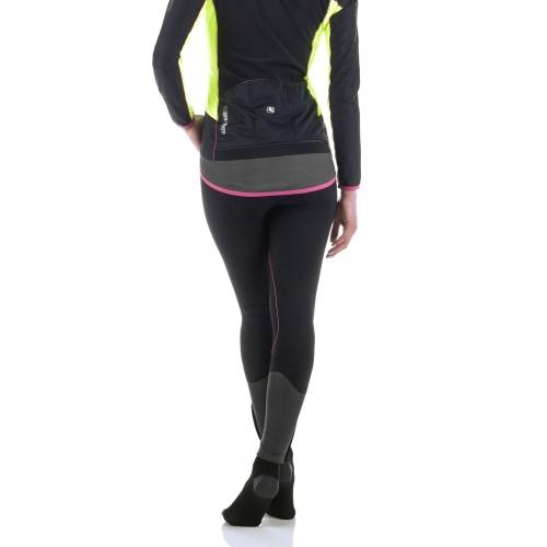 Giordana AV Bib Tights - Women's - Black with Pink accents - Classic Cycling