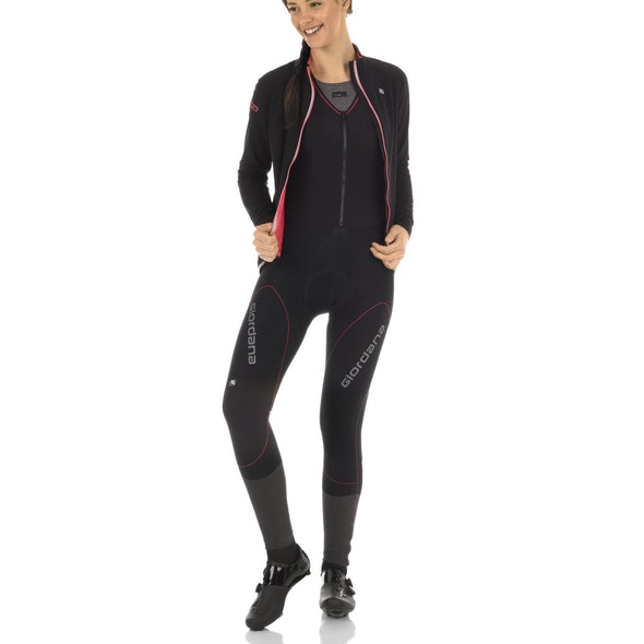 Giordana AV EXTREME Women's Jacket - Black-Pink - Classic Cycling