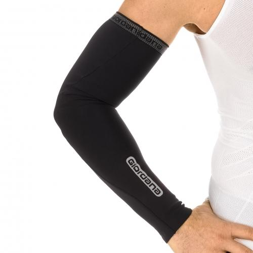 Giordana AV Wind Resistant  Arm Warmer - Black - Classic Cycling
