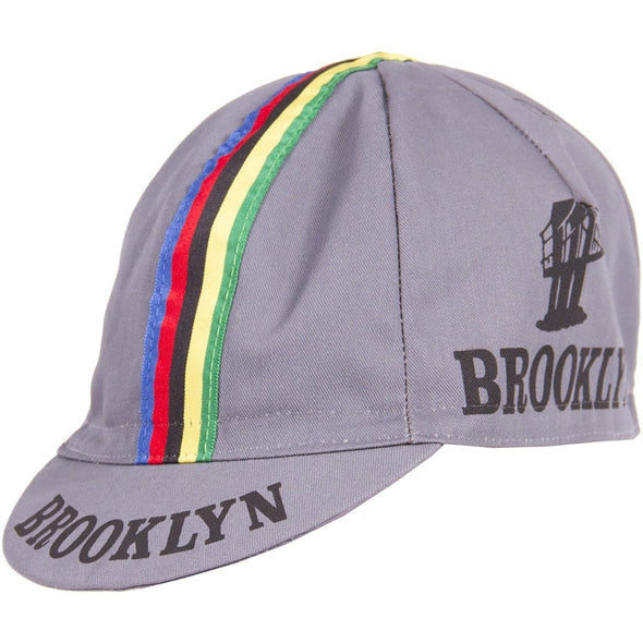 Giordana Brooklyn WC Cycling Cap – Gray - Classic Cycling
