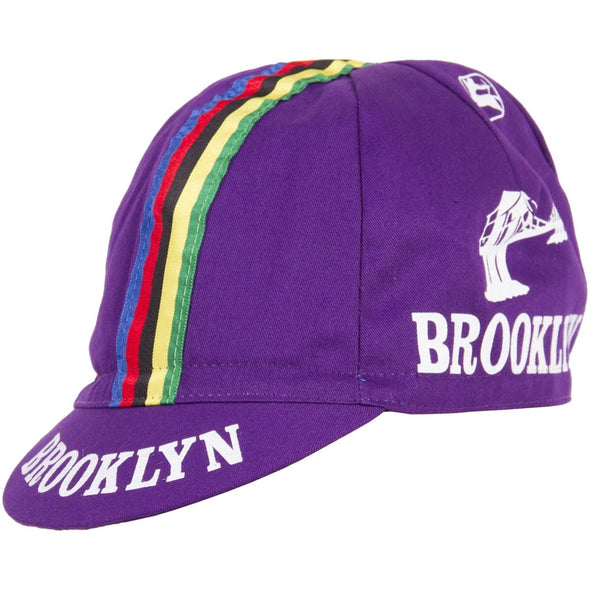 Giordana Brooklyn WC Cycling Cap – Purple - Classic Cycling