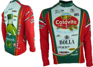 Giordana Colavita Winter Cycling Jersey - Classic Cycling