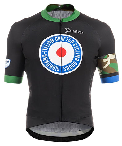 "Giordana Endurance Conspiracy ""Target Camo"" Scatto Pro Short Sleeve Jersey - Classic Cycling"