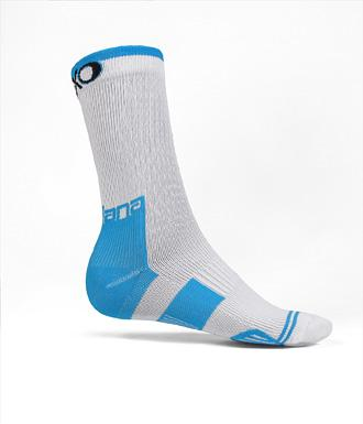 Giordana EXO Compression Sock Calf Height White - Classic Cycling