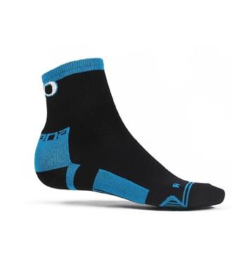 Giordana EXO Compression Sock Mid Height Black - Classic Cycling