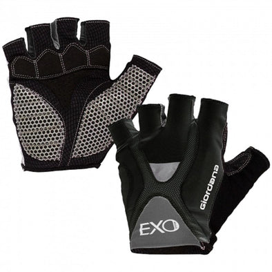 Giordana Exo Cycling Gloves - Black - Classic Cycling
